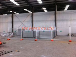 Temporary Fence Panels 14 Microns Hot Dipped Galvanized 2100mm X 2400mm pictures & photos