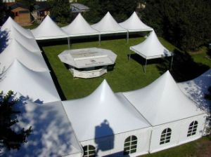 PVC Outdoor Event Party Tent with Air Conditioner Tb0039 pictures & photos