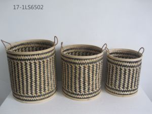 Bamboo Weaving Basket for Holding, Home Decoration and Gift pictures & photos