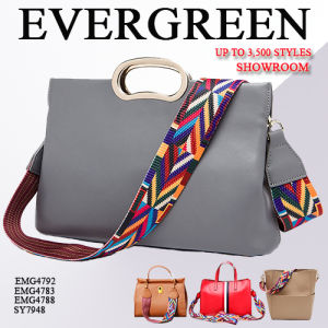 Professional Handbag Manufacturer, with 2 Factories & 3, 500+ New Samples Display in Big Showroom, Welcome to Visit Evergreen (SY6626) pictures & photos