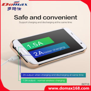 Universal Qi Wireless Charger Lithium Battery Case Power Bank for iPhone 6 pictures & photos