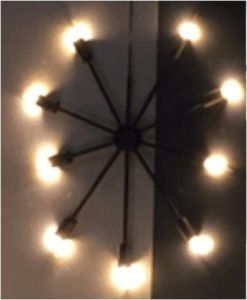 Round Lights with 9 Lampholds Pendant Lamp pictures & photos