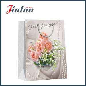 Customize Design Logo Printed Shiny Finishing Art Paper Bags pictures & photos