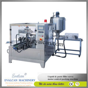 Automatic Wheatgrass Powder Rotary Packing Machine Price with Auger Filler pictures & photos
