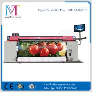 Digital Belt Textile Printer with Epson Dx7 Double Printheads 1.8m 1440dpi*1440dpi Plotter Sublimation Digital Printing Machine pictures & photos