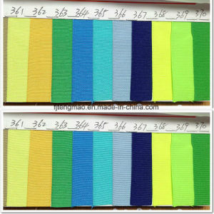 Green and Blue Pantone Polyester Ribbon pictures & photos