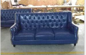 Modern Chesterfield Leather Sofa for Hotel Furniture/Office Sofa pictures & photos