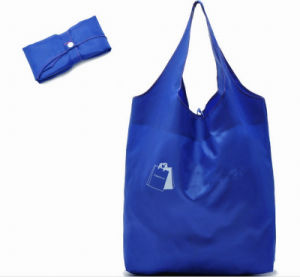 Promotion Dark Blue Shopping Handbags