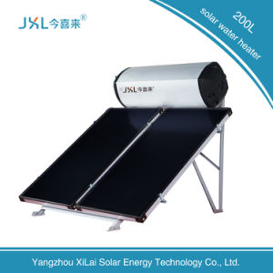 Jxl Flat Plate Solar Water Heater with 3c Certificate pictures & photos