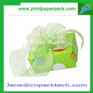 Custom Ribbon Cake Chocolate Candy Packaging Box Paper Gift Box pictures & photos