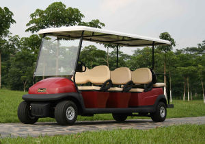 Best Quality 6 Seater Electric Tourist Car for Sale pictures & photos