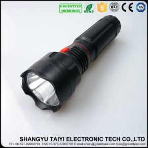 4*AAA Battery Powered LED Torch Work Light 6W COB LED Retractable Flashlight pictures & photos