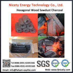 11.11 Global Sourcing Festival Machine-Made Charcoal for Sale/Hardwood BBQ Charcoal pictures & photos