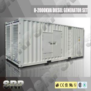 50Hz 1375kVA Silent Type Diesel Generator Powered by Cummins (DP1375KSE)