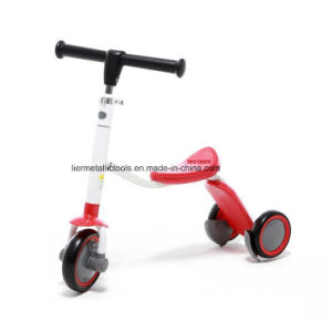 Kids Scooter with Three Wheel 2 In1baby Scooter pictures & photos