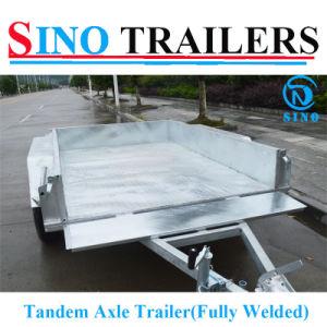 Cheap Tandem Axle Box Trailer