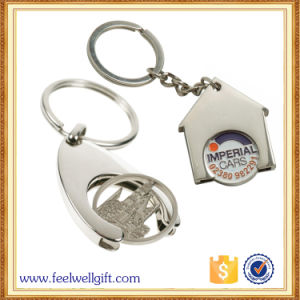 2017 Wholesale Hollow 3D Car Coin Keychain pictures & photos