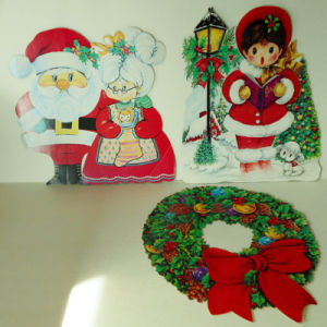 Best Selling Custom Shape Christmas Signs Custom Cardboard Standee pictures & photos