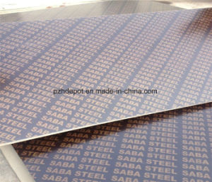 18mm 20mm 21mm Cheap Black Film Faced Plywood to Bulgaria pictures & photos