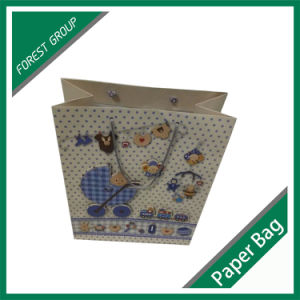 Colourful Paper Gift Bag with Handle pictures & photos