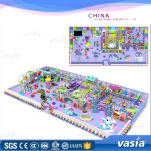Plastic Playground Material and Indoor Playground Type Playground pictures & photos