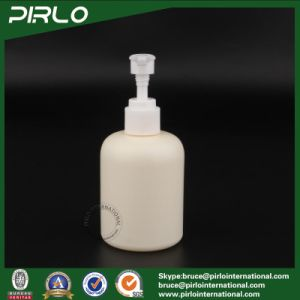 200ml Beig Empty Cosmetic Use Spray Bottle Shower Gel Spray Bottle Plastic pictures & photos