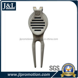 Die Casting Zinc Alloy Gold Divot Tool Free Mould pictures & photos