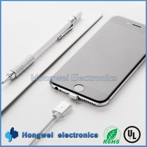 2 in 1 USB 2.0 to Power Charging and Magnetic Date USB Cable for iPhone pictures & photos