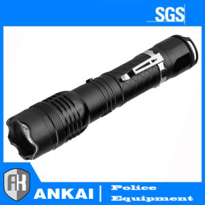 Police Small Bright Metal Flashlight Stun Gun Rechargeable pictures & photos
