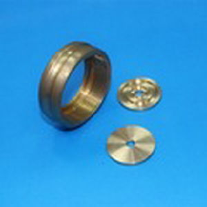 CNC Turning Copper Parts for Electronic Products pictures & photos