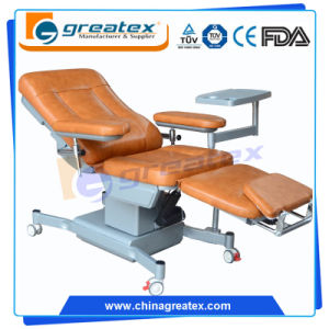 New Type Three Motors Blood Donation Chair Dialysis Chair pictures & photos
