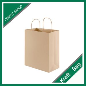 100% Recycle Printed Kraft Paper Bag pictures & photos
