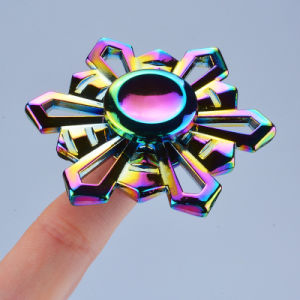 Water Droplets Rainbow Colorful Tri Hand Spinner Fidget Finger Toys pictures & photos