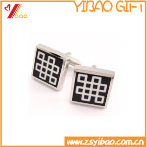 Silver Cufflinks, Tie Clip for Promotional Souvenir Gifts (YB-r-014) pictures & photos