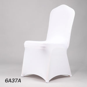 Polyester Spandex Folding Chair Cover Slipcover for Wedding Party (DPF107121) pictures & photos