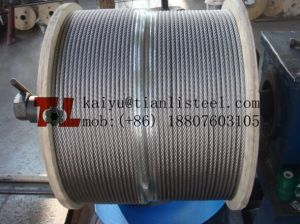 304 7*37 Stainless Steel Wire Rope pictures & photos