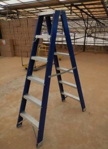 a Type Fiberglass Ladder FRP Folding with ANSI Cert pictures & photos