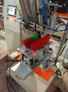 CNC 2 Axis Double Colour Broom Tufting Machine pictures & photos