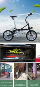 Lightweight Aluminum Alloy Mini Pocket Bicycle pictures & photos