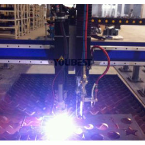 CNC Plasma Flame Small and Big Metal Pipe Profile Cutting Machine pictures & photos