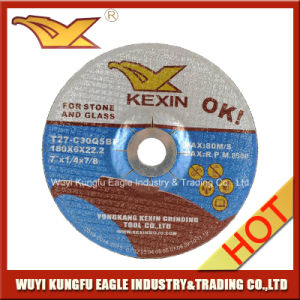 "Resin Grinding Wheel/Grinding Disc for Stone and Glass 7"" 180X6X22.2mm pictures & photos"