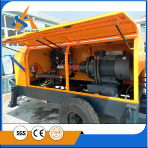Best Selling Control Concrete Pump with Electric Engine pictures & photos