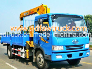 Truck with Crane, 10-12 Tons Truck Mounted Crane, Crane Truck pictures & photos