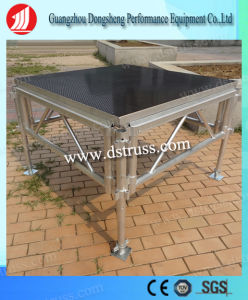 1.22mm*1.22mm Adjustable Movable Outdoor Plywood Aluminum Lighting Stage pictures & photos