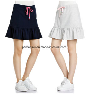 Wholesale Sweet Comfortable Women′s Knitted Sports Skirt pictures & photos