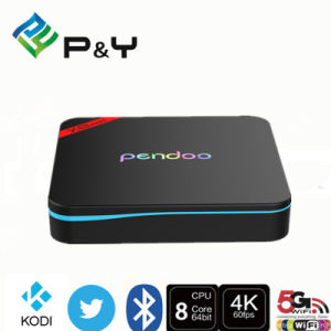 China Factory Ce RoHS Pendoo X8 PRO+ Quad Core Android 6.0 Marshmallow TV Box Amlogic S912 pictures & photos
