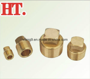 Brass Pipe Square Head Plug Fitting pictures & photos