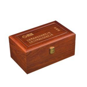 Professional Custom-Made Wooden Top Grade Wine Box