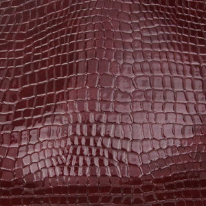 Hot Sale Crocodile PU PVC Leather for Bag pictures & photos