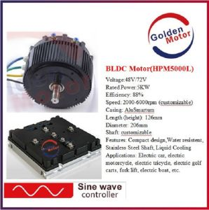 5kw BLDC Motor Electric Motor Kit Electric Motorcycle Conversion Kit / Electric Boat Kit/ Power. Efficient, Reliable Motor pictures & photos